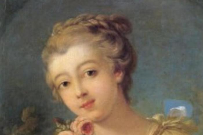 Young French Girl 1780 Hairstyle